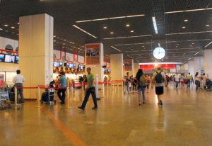 compra no aeroporto de Brasília